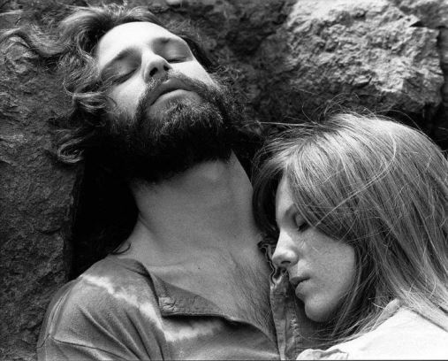 jim morrison and pamela courson in his last days