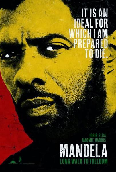 mandela long walk to freedom poster movie