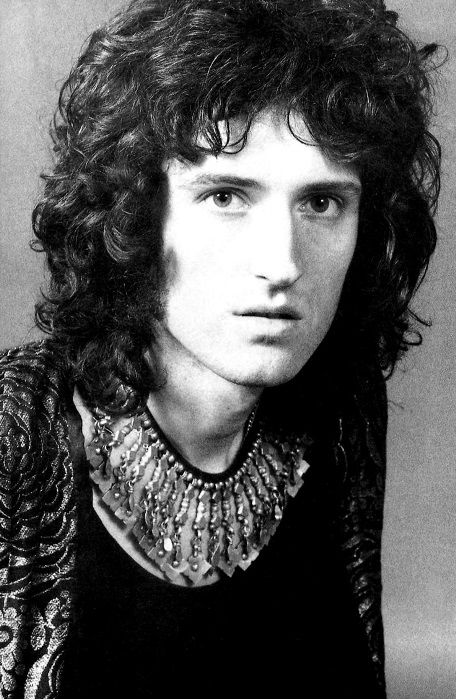 portrait of a very young brian may