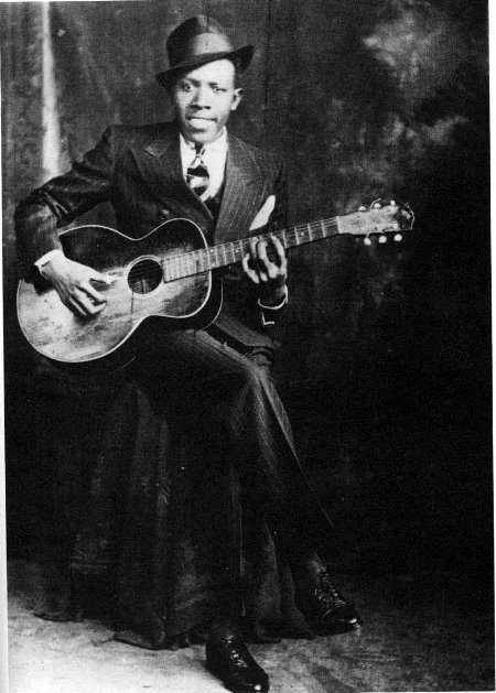robert johnson second known rare photo