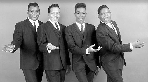 the drifters before the death of rudy lewis at the age 27