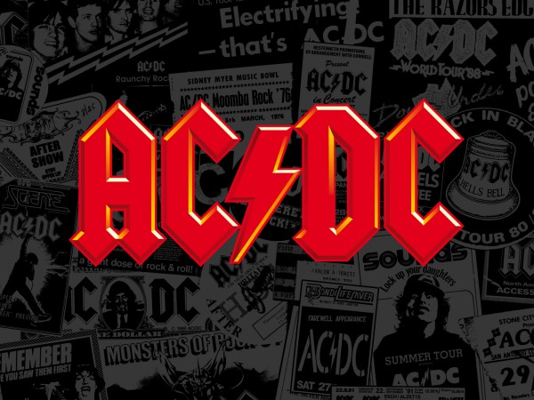 acdc logo vector wallpaper