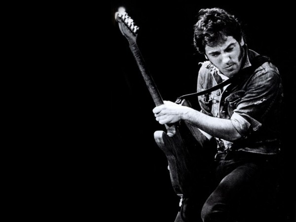 bruce springsteen wallpaper black and white