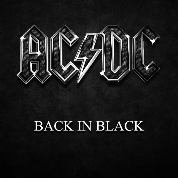 great ac dc wallpaper back in black