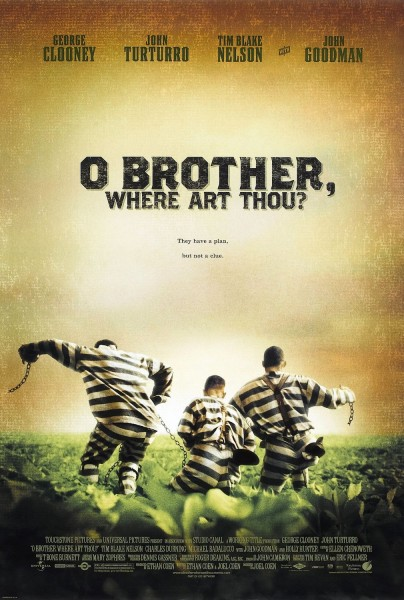 o brother where art thou movie poster wallpaper