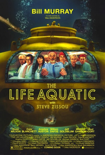 the life aquatic with steve zissou movie poster wallpaper
