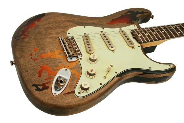 fender rory gallagher electric guitar