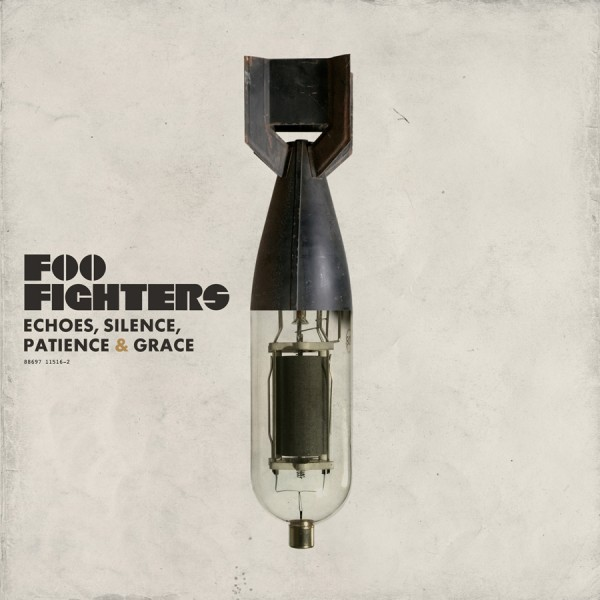 foo fighters echoes silence patience & grace cover album