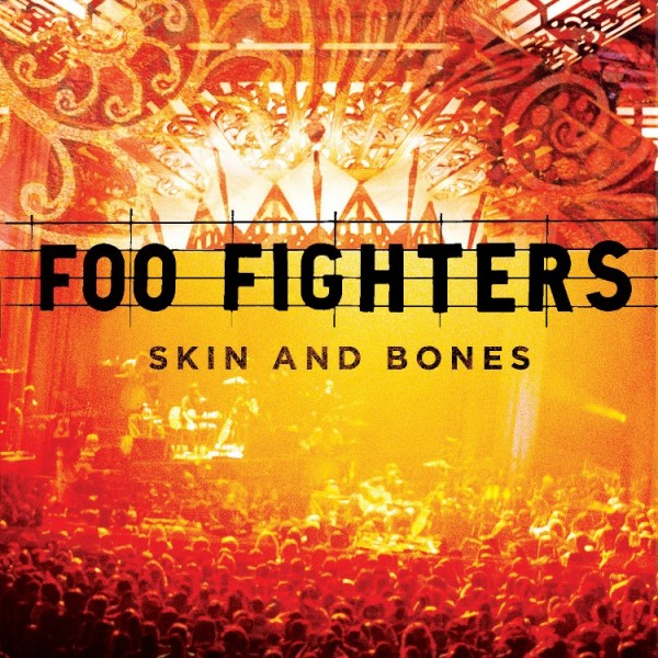 foo fighters skin and bones album cover