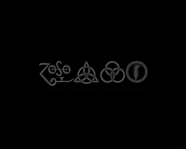 four symbols led zeppelin