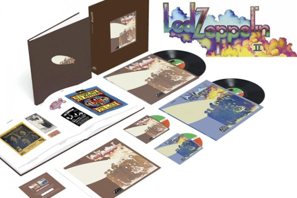led zeppelin ii box set