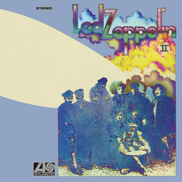 led zeppelin led zeppelin ii deluxe edition cover art