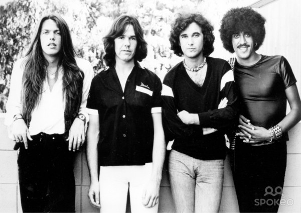 rock icons thin lizzy with phil lynott and gary moore