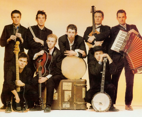 the pogues band members classic portrait picture
