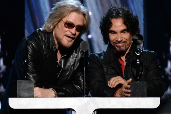 Hall and Oates at the rock and roll hall of fame 2014