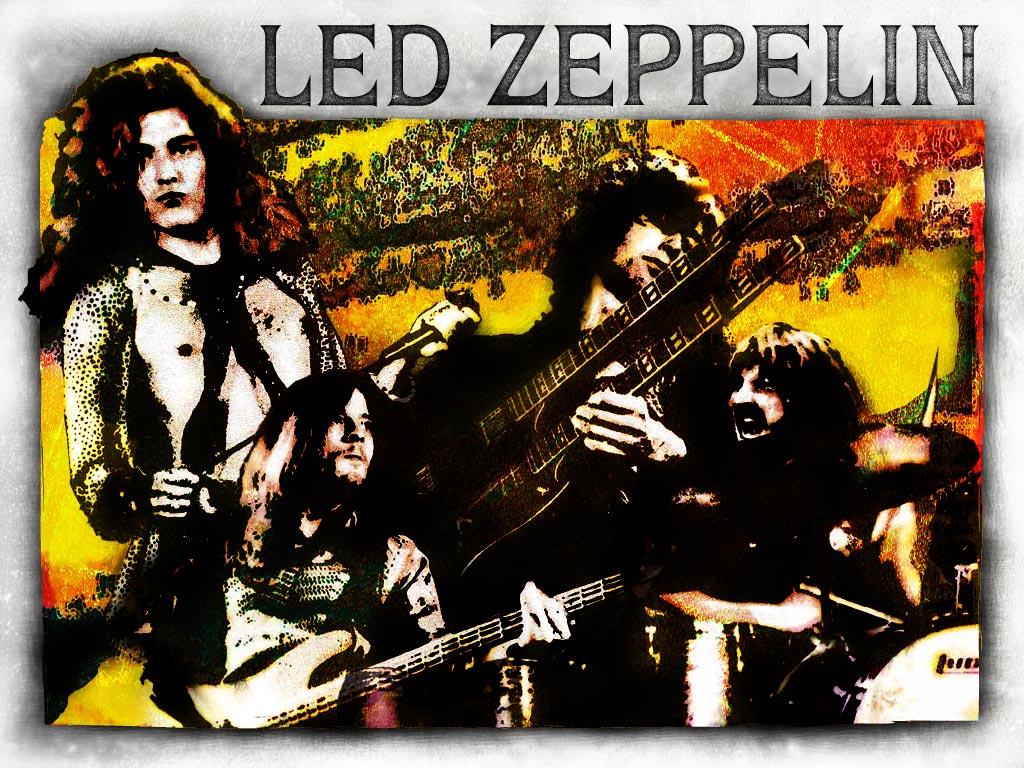 led zeppelin. Black Bedroom Furniture Sets. Home Design Ideas