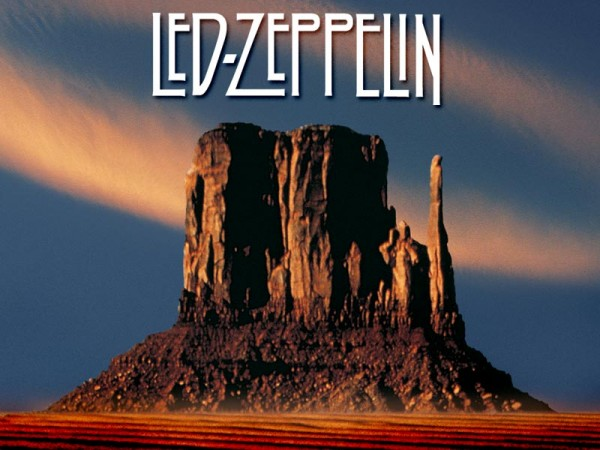 Led Zeppelin Official Wallpaper how the west was won