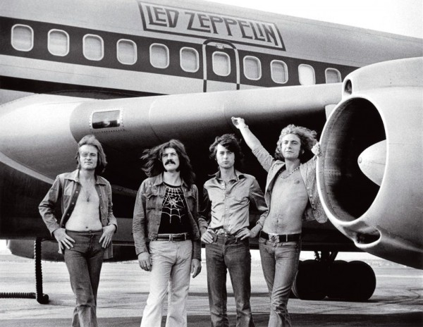 Led Zeppelin airplane starship plane bob gruen wallpaper