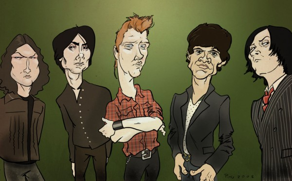 Queens Of The Stone Age animated wallpaper