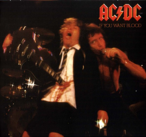 AC DC If You Want Blood You´ve Got It (USA) Front