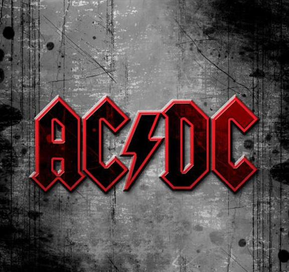 ac dc logo vector grey wallpaper