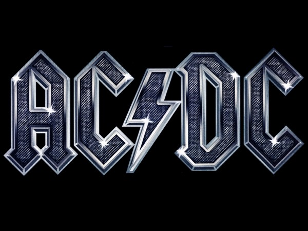 ac dc logo vector wallpaper