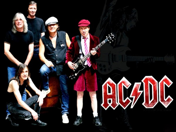 AC DC Wallpaper Later Years