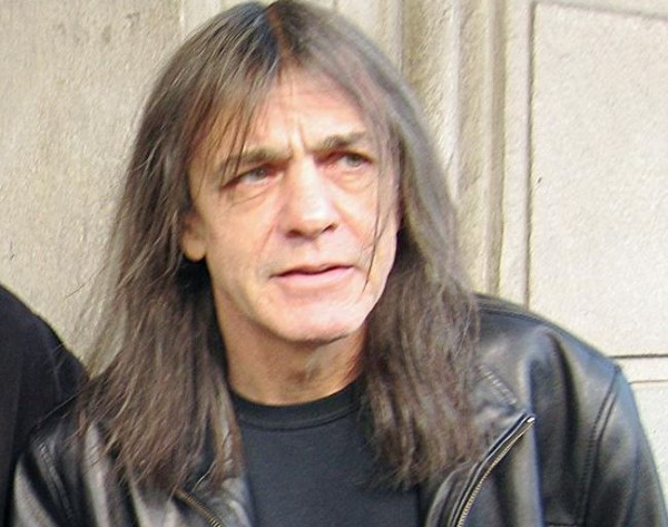old malcolm young from ac dc illness