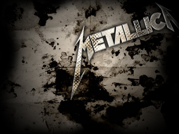 great metallica logo vector wallpaper