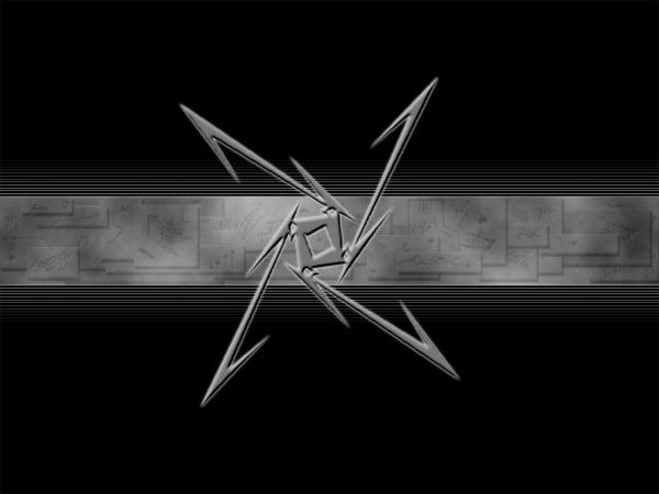 hd metallica logo wallpaper