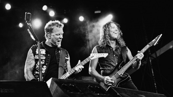 kirk and james metallica live wallpaper