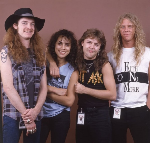 metallica in the 80's wallpaper