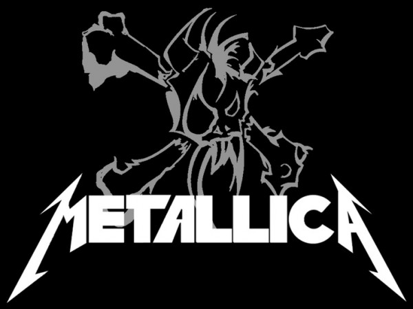 metallica logo art
