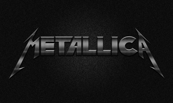 metallica logo vector art