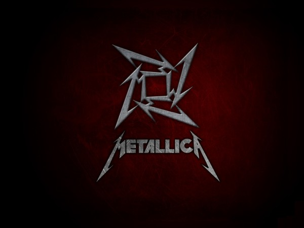 metallica logo vector wallpaper