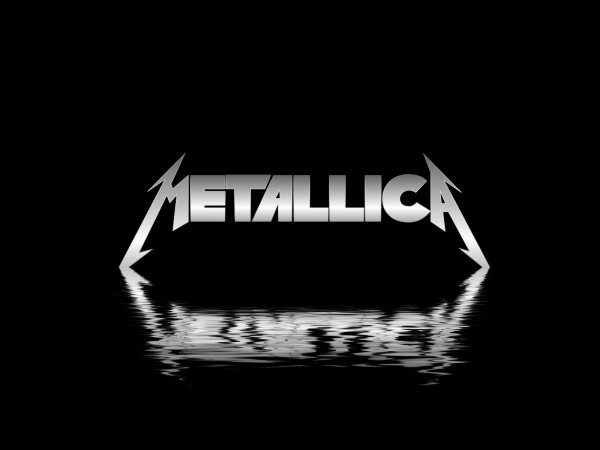 metallica water logo wallpaper
