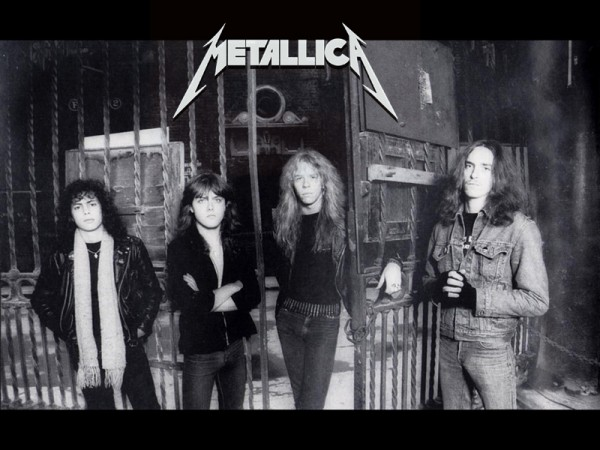 young metallica with cliff burton
