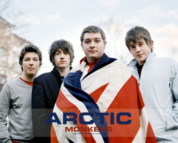 Arctic Monkeys England Flag Wallpaper