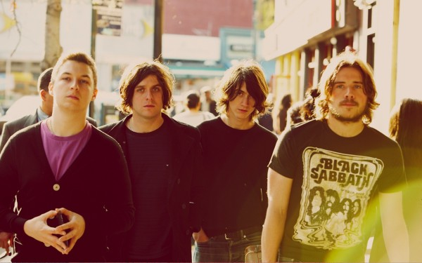 Arctic Monkeys Wallpaper Hambug Years Black SabbathT-Shirt