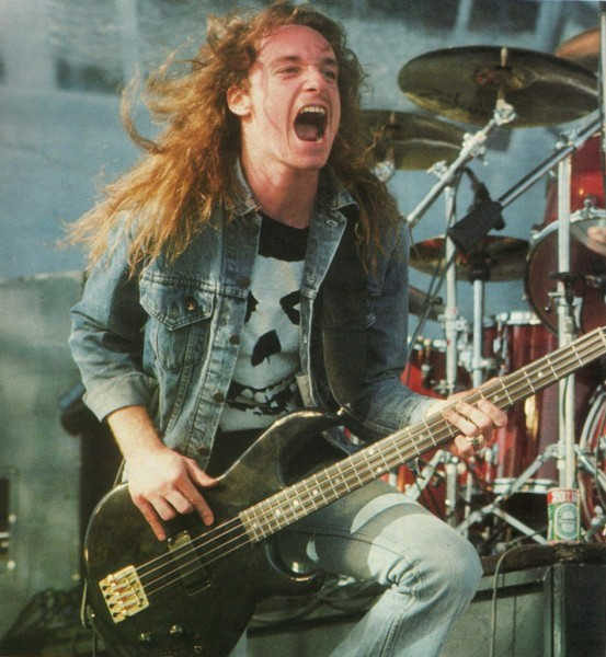 Cliff Burton from metallica bass player picture