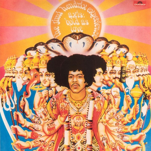Jimi Hendrix Axis Bold as Love (1967) cover art wallpaper