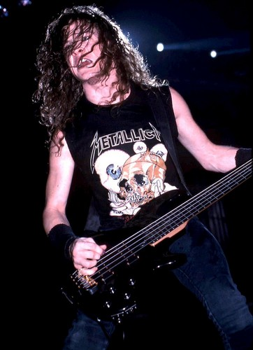 Metallica bass player jason newsted hair style