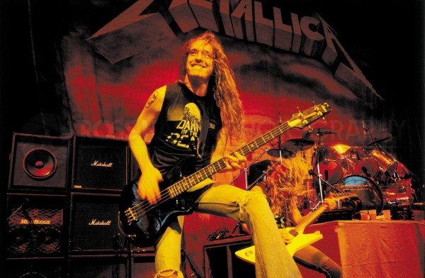 cliff burton live gig wallpaper
