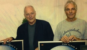 david gilmour with richard wright pink floyd pulse million sales album 2