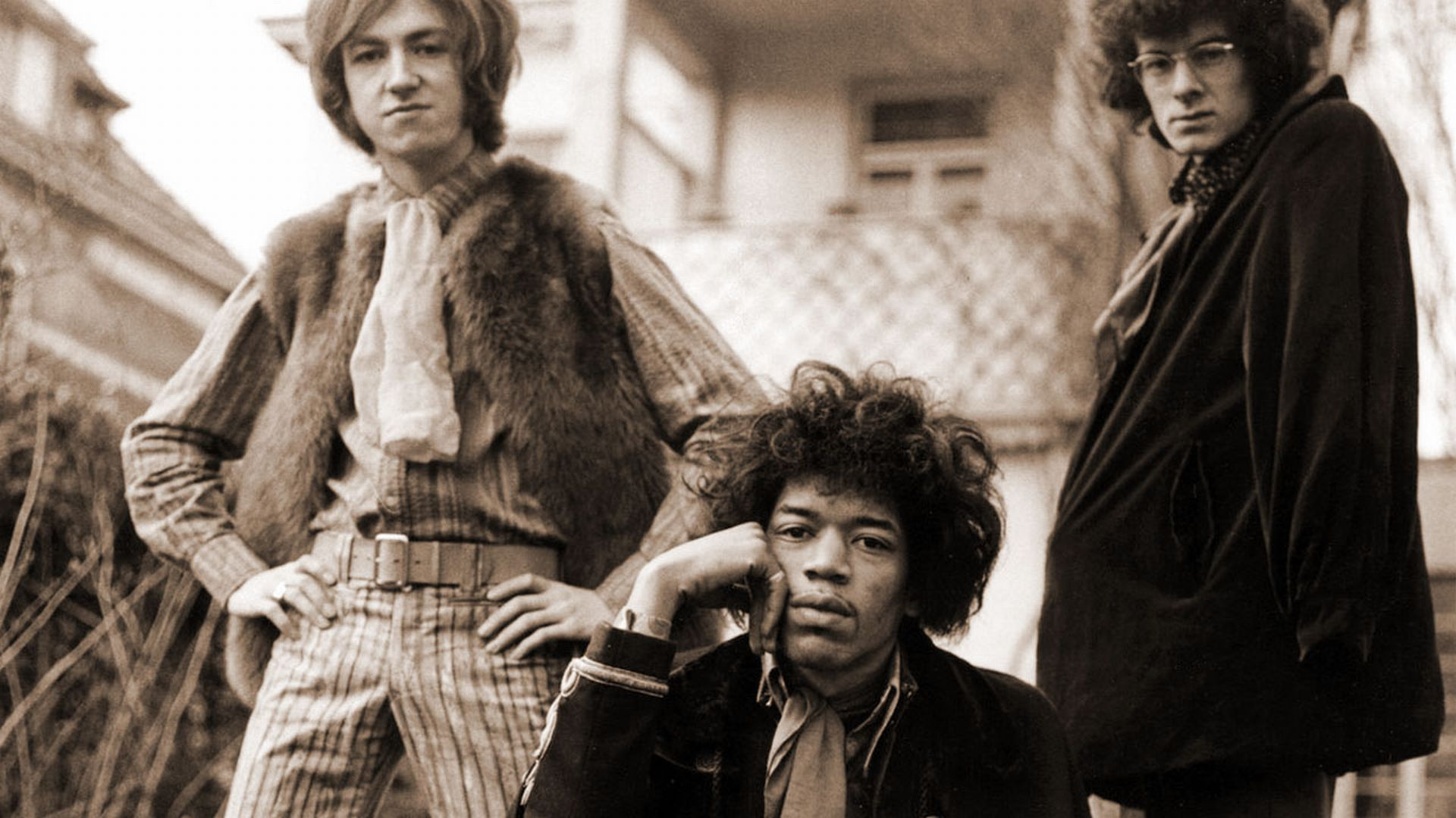 Jimi Hendrix Experience Band Hd Wallpaper Pictures