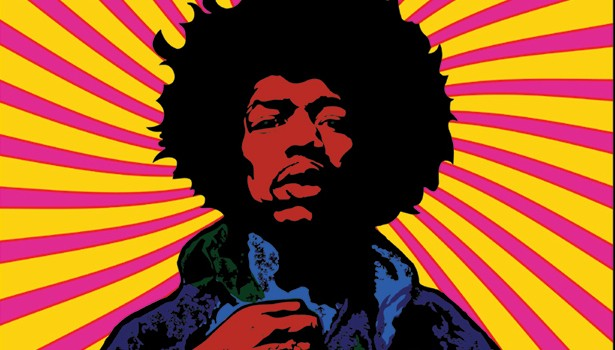 Wallpapers Jimi Hendrix Psychedelic Wallpaper Desktop