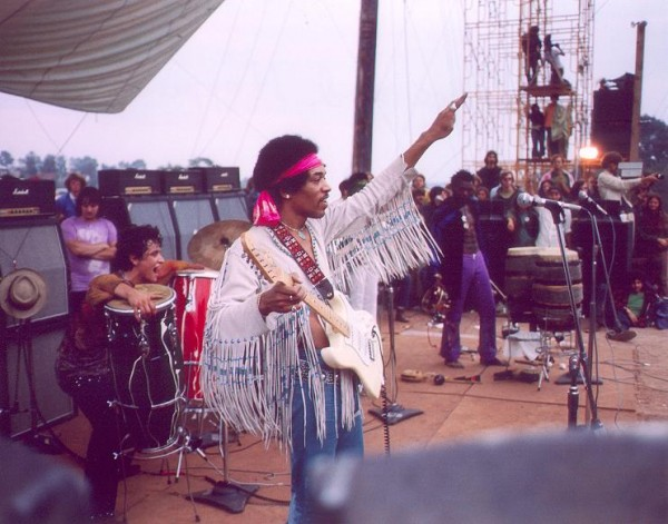jimi hendrix woodstock peace sign wallpaper