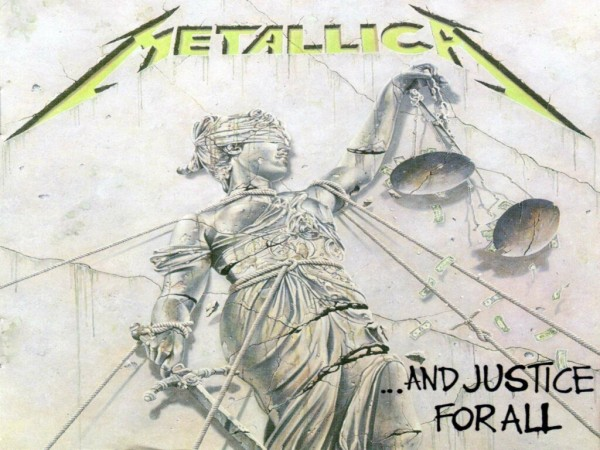 metallica and justice for all cover album wallpaper