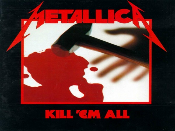 metallica kill em all cover album wallpaper