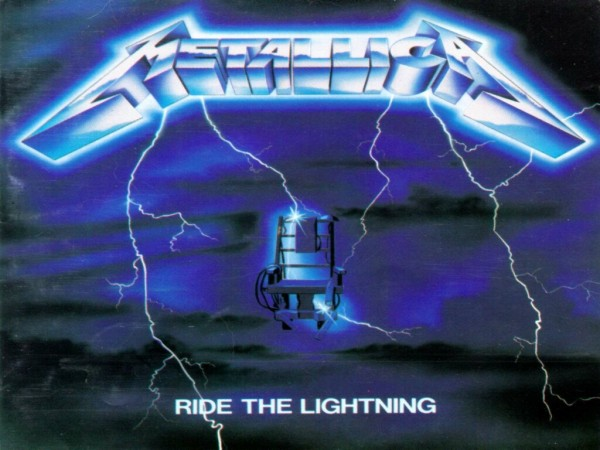 metallica ride the lightning cover album wallpaper